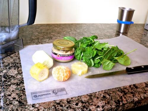 citrus smoothie ingredients