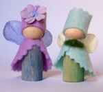 Mr and Mrs Fairy of Blue Meadow House