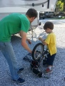 bike repair lesson
