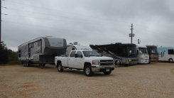 dropping off our RV