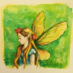 fairy-cicada wings